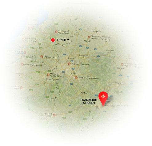Taxi Danny Arnhem is dé Frankfurt Airport service voor de Regio Arnhem. Taxi Arnhem Frankfurt Airport tegen het laagste tarief.