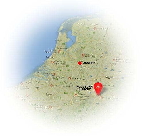 Taxi Danny Arnhem is dé Köln Bonn Airport service voor de Regio Arnhem. Taxi Arnhem Köln Bonn Airport tegen het laagste tarief.