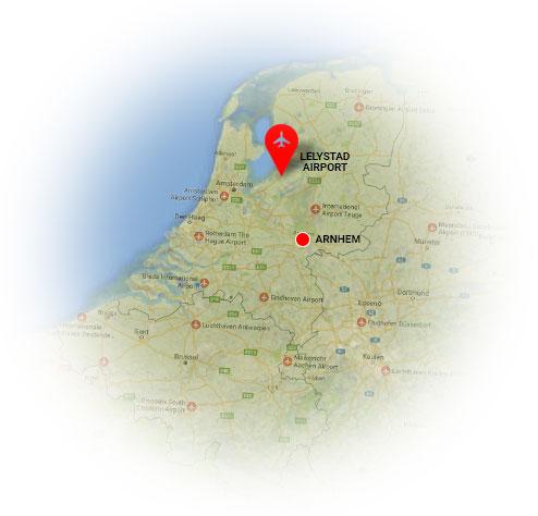 Taxi Arnhem Lelystad Airport