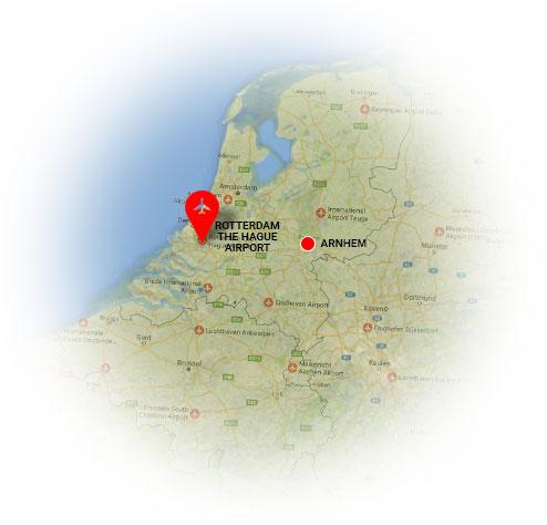 Taxi Arnhem Rotterdam The Hague Airport